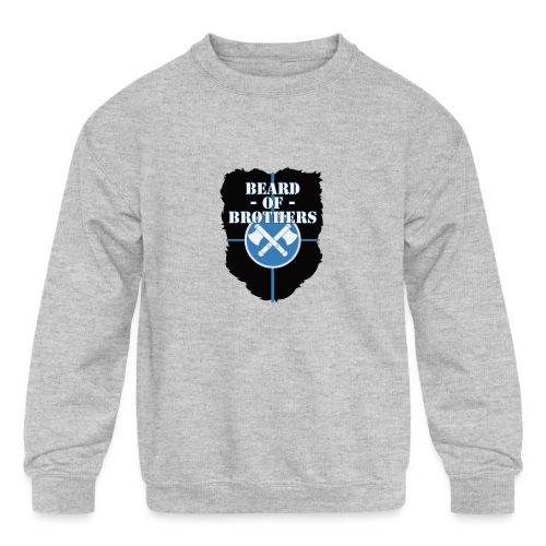 Beard Of Brothers - Kids' Crewneck Sweatshirt