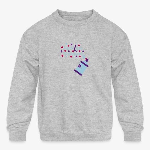 reckless youngster boys - Kids' Crewneck Sweatshirt