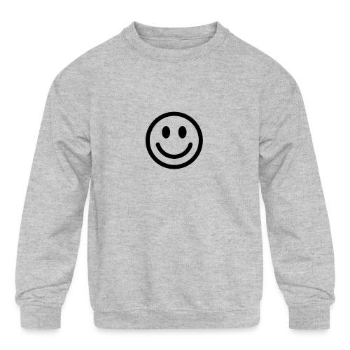 smile - Kids' Crewneck Sweatshirt