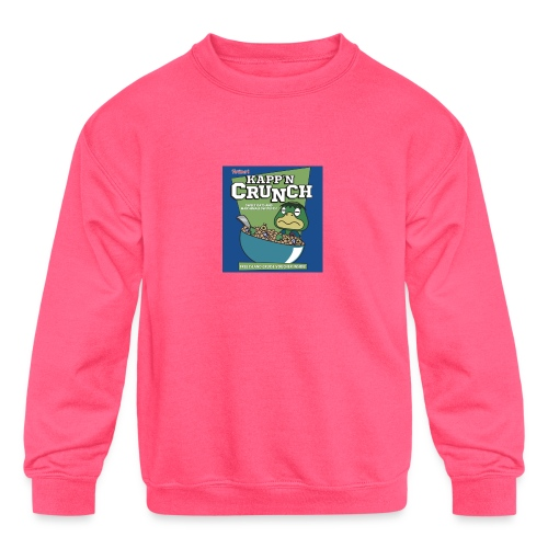 Kapp'n Crunch - Kids' Crewneck Sweatshirt