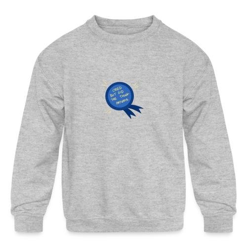 Regret - Kids' Crewneck Sweatshirt