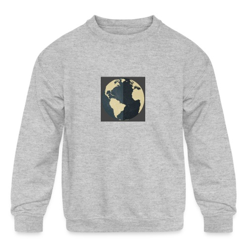 The world as one - Kids' Crewneck Sweatshirt