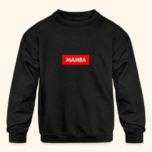 Supreme Mamba - Kids' Crewneck Sweatshirt