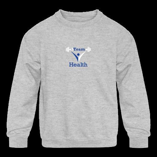1TeamHealth - Kids' Crewneck Sweatshirt