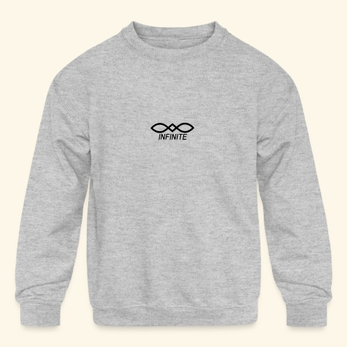 INFINITE - Kids' Crewneck Sweatshirt