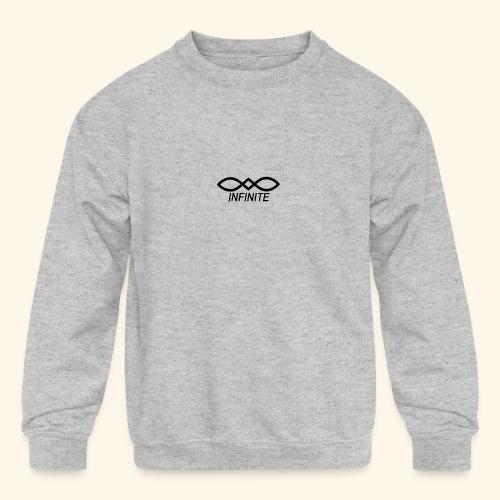 INFINITE - Kids' Crewneck Sweatshirt