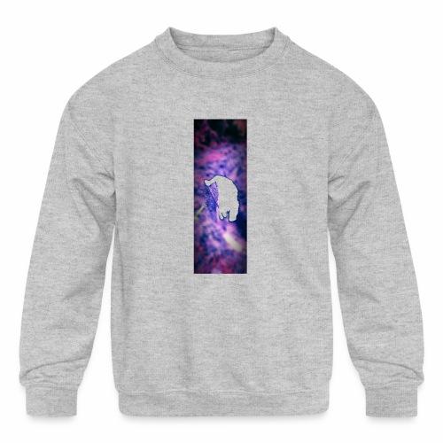 Shoveling - Kids' Crewneck Sweatshirt