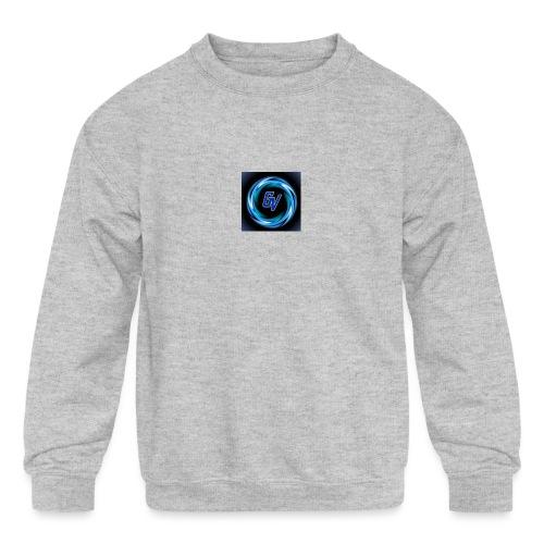 MY YOUTUBE LOGO 3 - Kids' Crewneck Sweatshirt