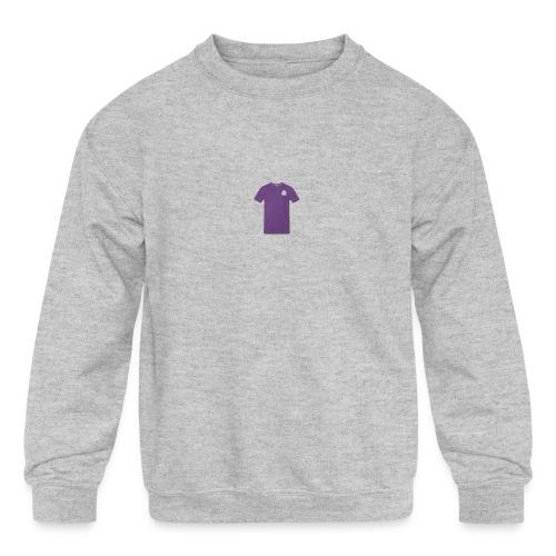Loufoque Purple Tee - Kids' Crewneck Sweatshirt