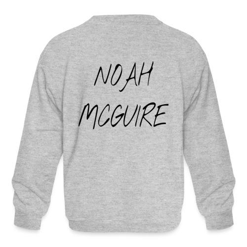 Noah McGuire Merch - Kids' Crewneck Sweatshirt