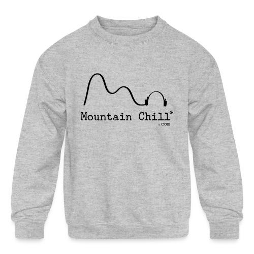 Mountain Chill Radio Official - Kids' Crewneck Sweatshirt
