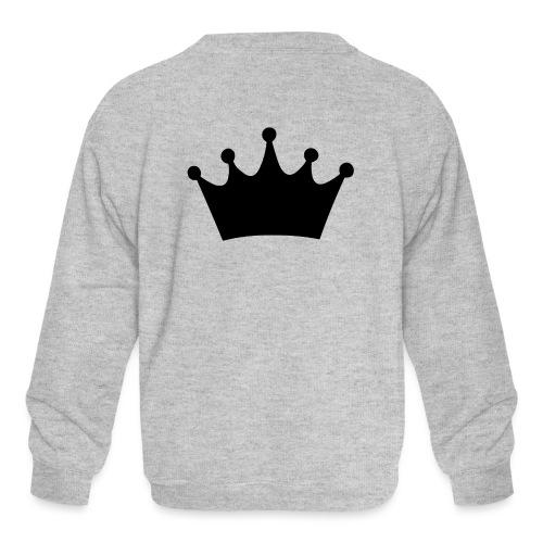 CROWN - Kids' Crewneck Sweatshirt