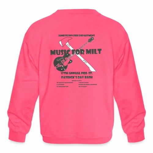 2018 Pre-St. Patricks Day Bash - Kids' Crewneck Sweatshirt