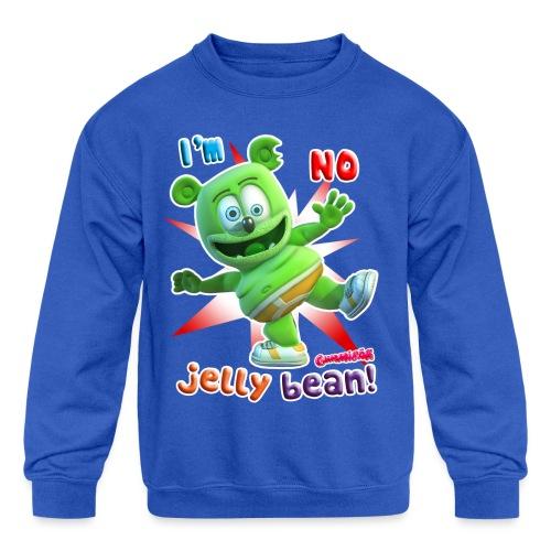 I'm No Jelly Bean - Kids' Crewneck Sweatshirt