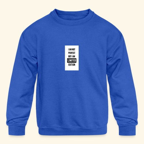 One of a kind - Kids' Crewneck Sweatshirt