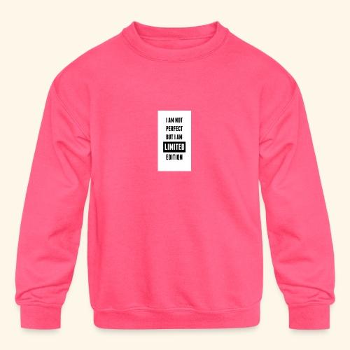 One of a kind - Kids' Crewneck Sweatshirt