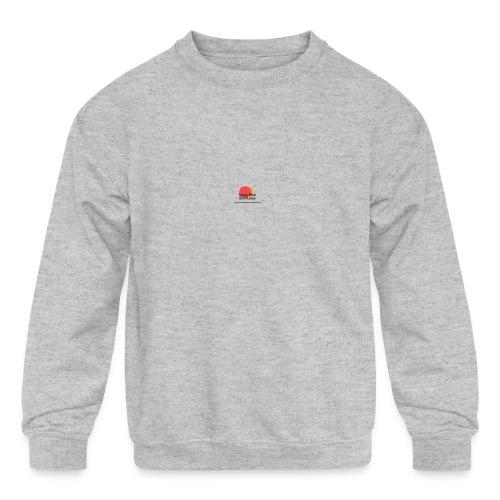 logo for lucas - Kids' Crewneck Sweatshirt