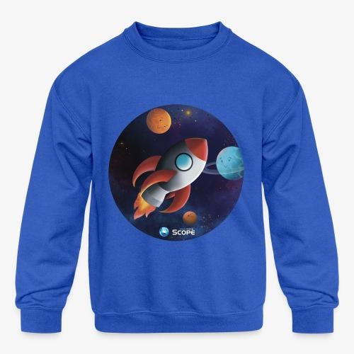 Solar System Scope : Little Space Explorer - Kids' Crewneck Sweatshirt