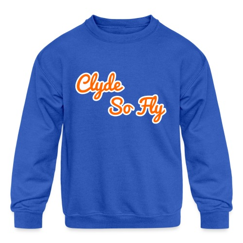 Clyde So Fly Classic - Kids' Crewneck Sweatshirt