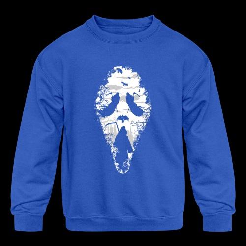 Reaper Screams | Scary Halloween - Kids' Crewneck Sweatshirt