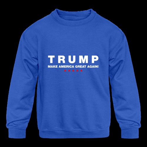 Official Trump 2016 - Kids' Crewneck Sweatshirt