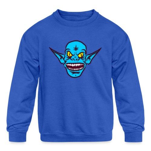 Troll - Kids' Crewneck Sweatshirt