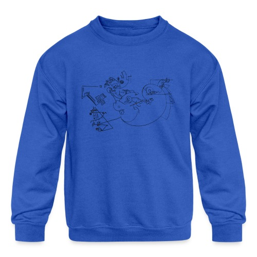 Today - Kids' Crewneck Sweatshirt
