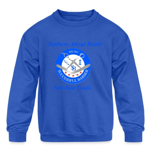 Barbershop Books - Kids' Crewneck Sweatshirt