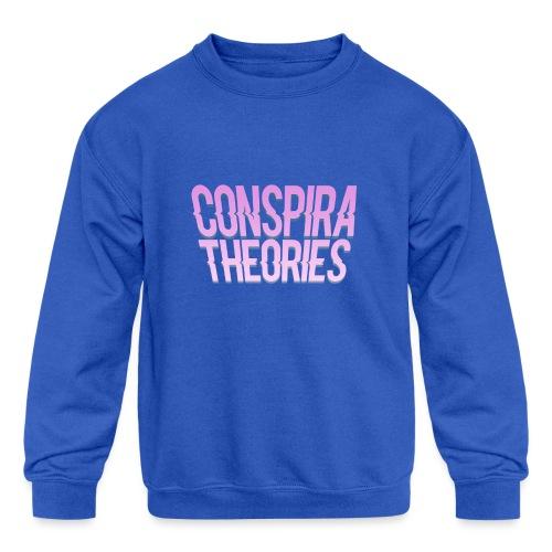 Women's - ConspiraTheories Official T-Shirt - Kids' Crewneck Sweatshirt