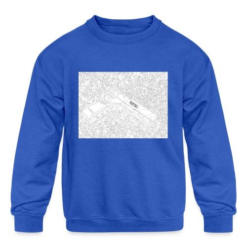 GunLines - Kids' Crewneck Sweatshirt