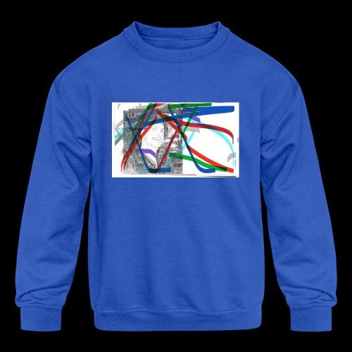 scotts art - Kids' Crewneck Sweatshirt