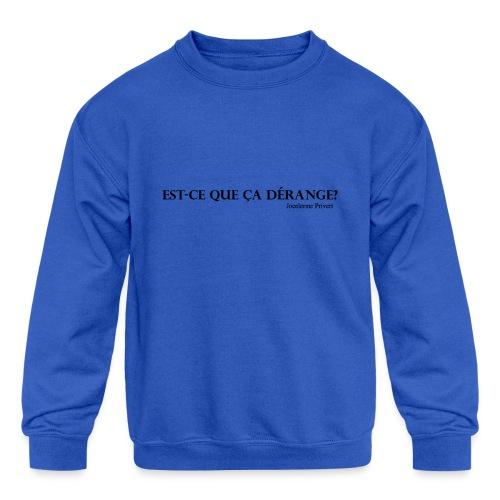 Jocelerme Privert - Kids' Crewneck Sweatshirt
