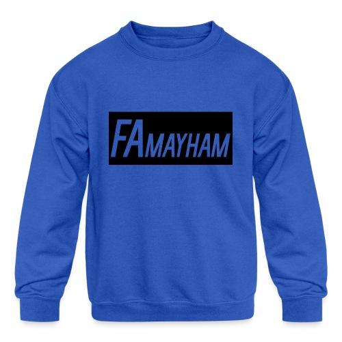 FAmayham - Kids' Crewneck Sweatshirt