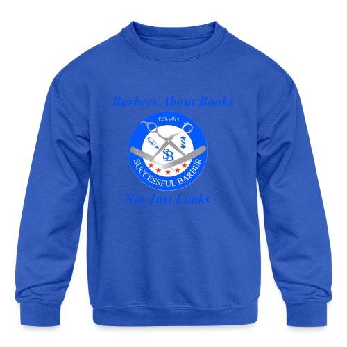 Barbershop Books - Kid's Crewneck Sweatshirt