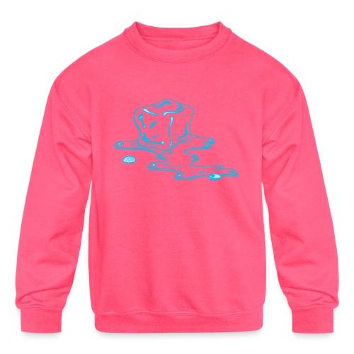 Ice melts - Kids' Crewneck Sweatshirt