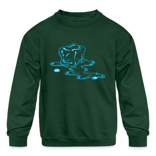 Ice melts - Kids' Crewneck Sweatshirt