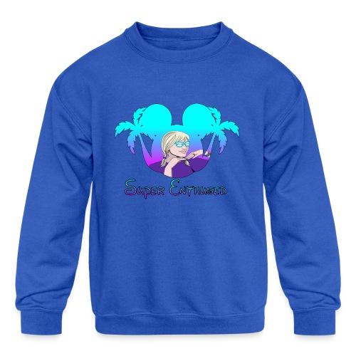 Super Enthused Florida Love - Kids' Crewneck Sweatshirt