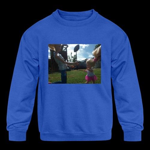Babies sunny day - Kids' Crewneck Sweatshirt