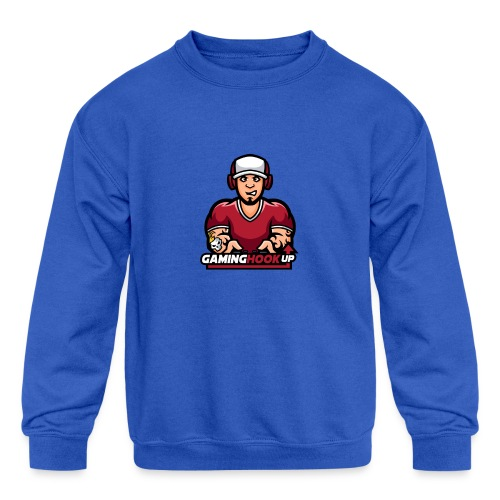 Your One Stop GamingHookup - Kids' Crewneck Sweatshirt