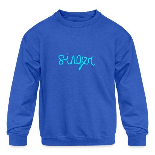 SINGER - Kids' Crewneck Sweatshirt