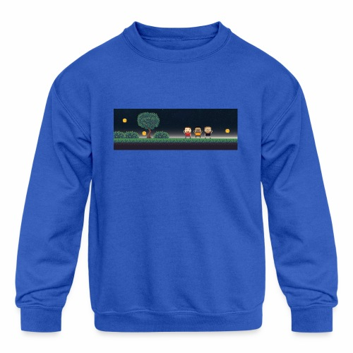 Twitter Header 01 - Kids' Crewneck Sweatshirt