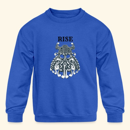 RISE CELTIC WARRIOR - Kids' Crewneck Sweatshirt