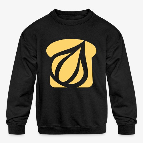 Garlic Toast - Kids' Crewneck Sweatshirt
