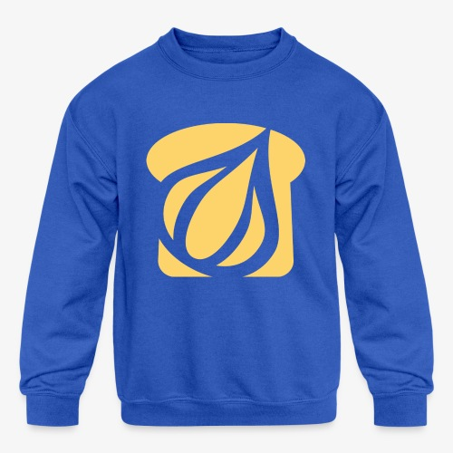 Garlic Toast - Kids' Crewneck Sweatshirt
