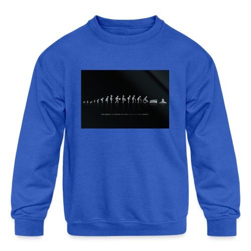 DIFFERENT STAGES OF HUMAN - Kids' Crewneck Sweatshirt