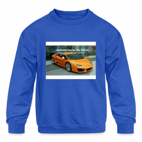 The jackson merch - Kids' Crewneck Sweatshirt