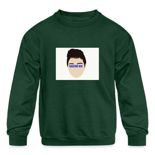 Fernando Cortez merck - Kids' Crewneck Sweatshirt