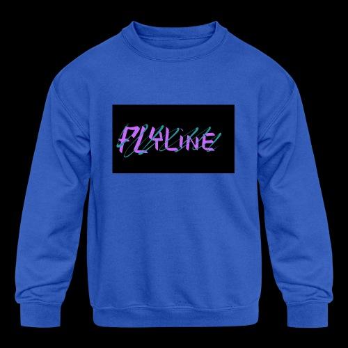 Flyline fun style - Kids' Crewneck Sweatshirt