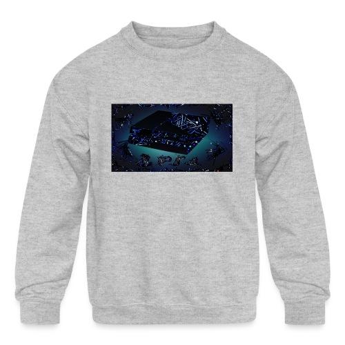 ps4 back grownd - Kids' Crewneck Sweatshirt
