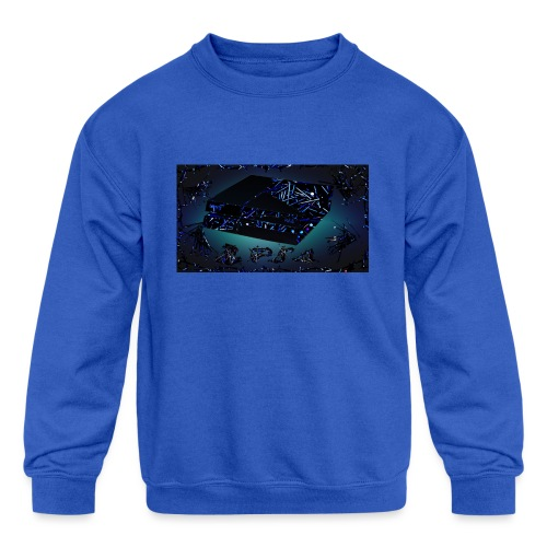 ps4 back grownd - Kids' Crewneck Sweatshirt